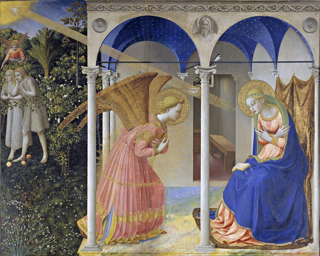By Fra Angelico - Galería online, Museo del Prado., Domena publiczna, https://commons.wikimedia.org/w/index.php?curid=45124868