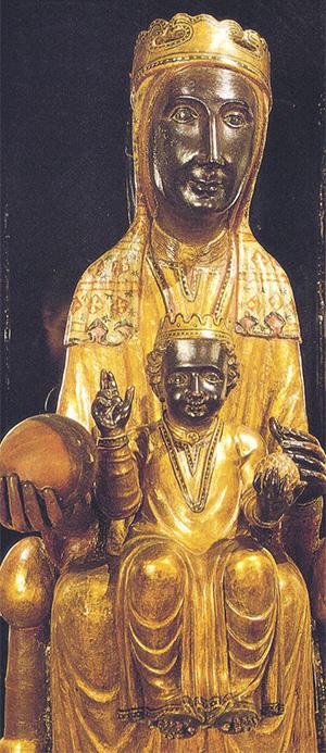 Cudowna Madonna z Montserrat /www.carloacutis.com